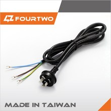 Australia power plug SAA 3pins power plug 250V power cable wire for oceania country