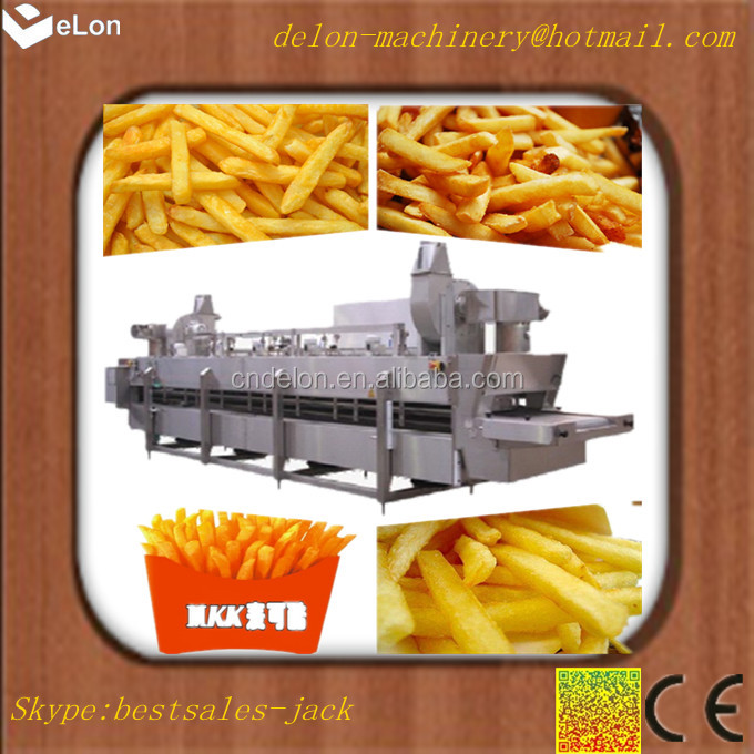 small frozen french fries production line