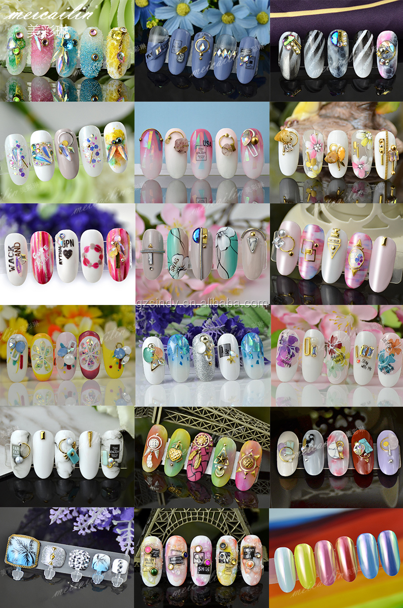 Wave Stripe Nail Art Sticker Lines Adhesive Transfer Decals