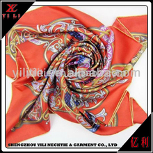 Fashion Colorful Women Scarf Wholesale Silk Scarves