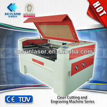 Wuhan Gosun laser engraving machine for Advertising industry,clothing decoratioon, furnitur,model manufacturing,and handicraft
