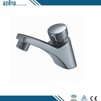 Hot Sale Water Saver Cheap Single Handle Toilet Wash Brass Self Closing Faucet