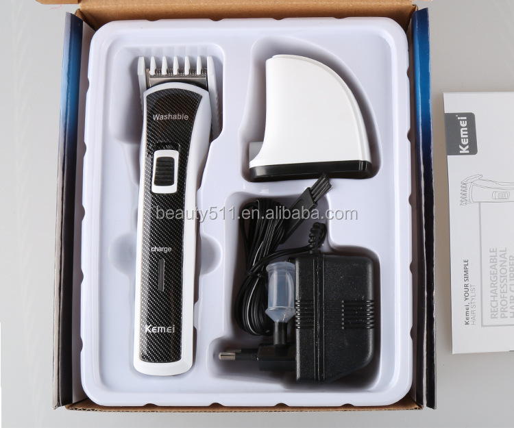 Professional Household Rechargeable Children/Baby Electric hair clipper/cutter KM-6166