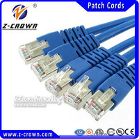 Cat5e Jumper Cable RJ45 Shielded And Unshielded Ethernet Lan Cable