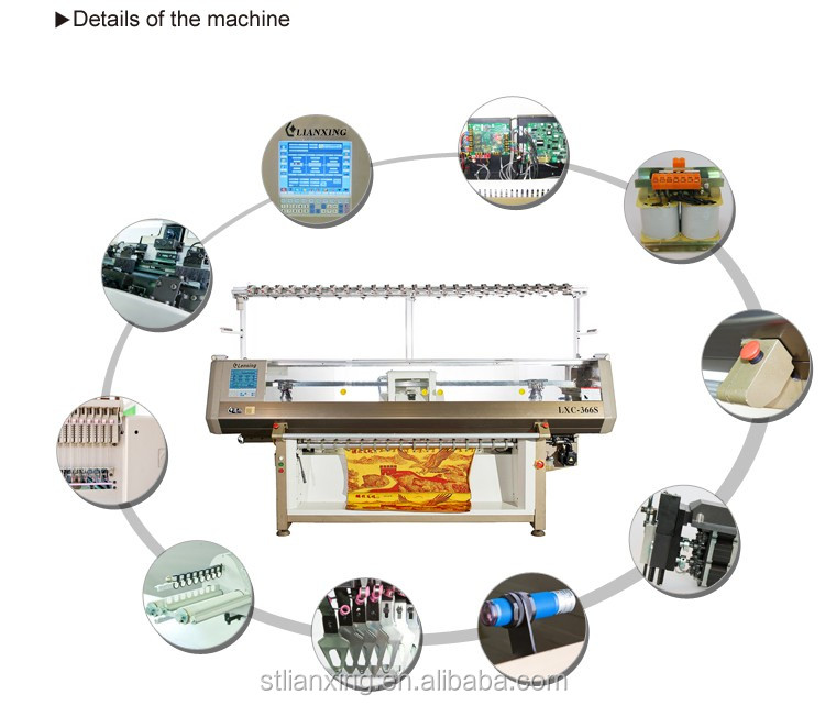 Fully automatic sweater knitting machine china manufacture
