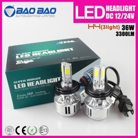 New arrival H13 H4 9004 9007 led hi/low headlight kit
