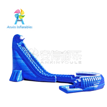 Top Popular commercial Giant Inflatable Hurricane cyclone Water Slides For Adults