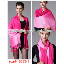 fashion pink pashmina shawls and scarves