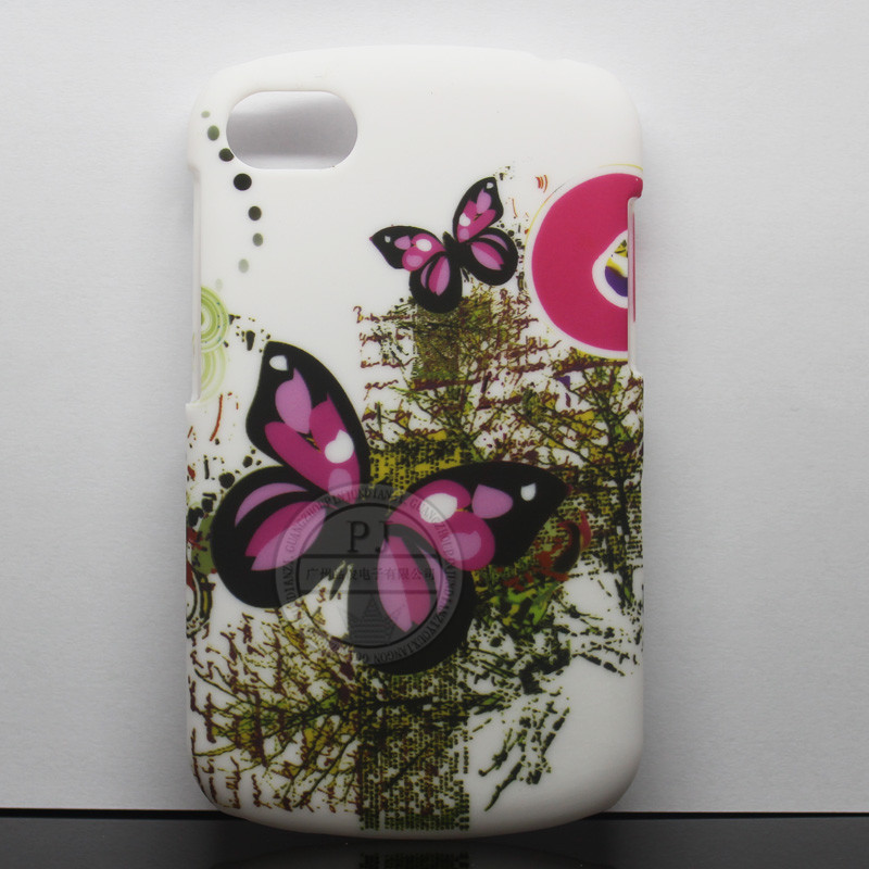 OEM Printed PC Back Cover Case for Blackberry Q10