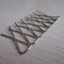 functional and popular size 33mm X shape handsome stainless steel shirt clip for garment packing