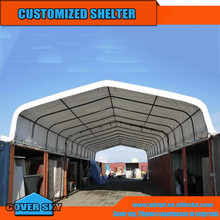 galvanized steel tubes weld fixing container shelter