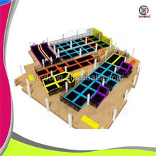 New style commercial indoor kids biggest trampoline for sale