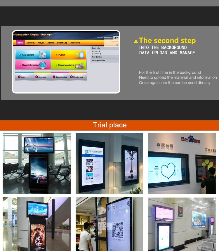 32 inch lcd touch screen self-service kiosk pos machine card reader terminal system