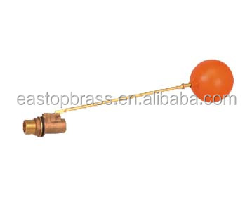 Customized forged good quality mini automatic brass valve water tank ball float valve