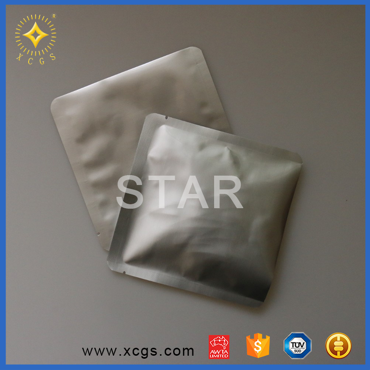 Packaging bags silver customized aluminium foil esd bag