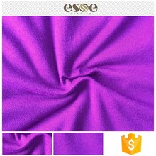 Esse 95% rayon solid dyed spun poly colorful jersey fabric tube