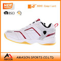 2018 high peeling pu badminton shoes indoor sports power cushion ergo shape tennis shoes wholesale OEM factory Ab3200