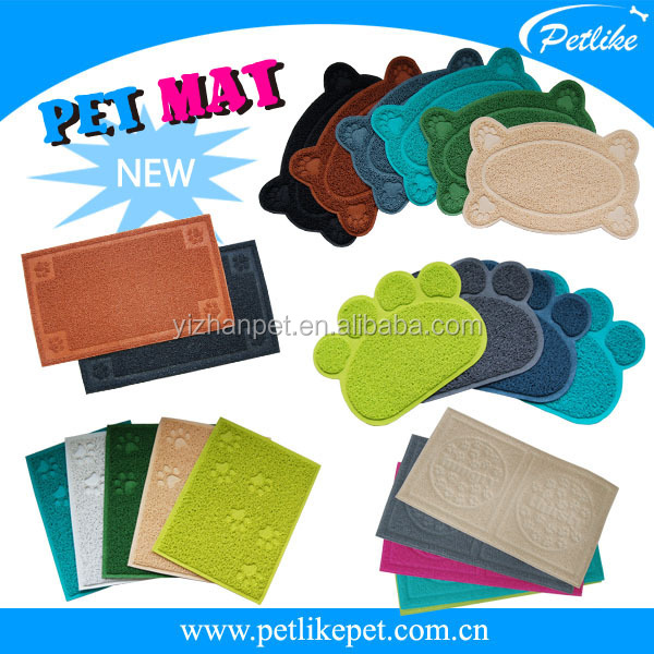 2014 Alibaba China hot selling new PVC mat for pets