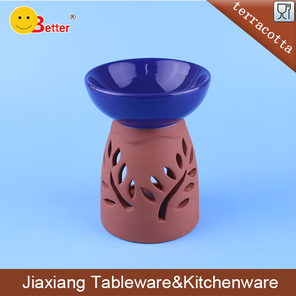 terracotta small tealight incense burner for sale