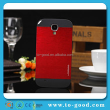 2015 Hot New Products Smart Aluminium Back Cover Case For Samsung Galaxy S4 I9500 (Red)