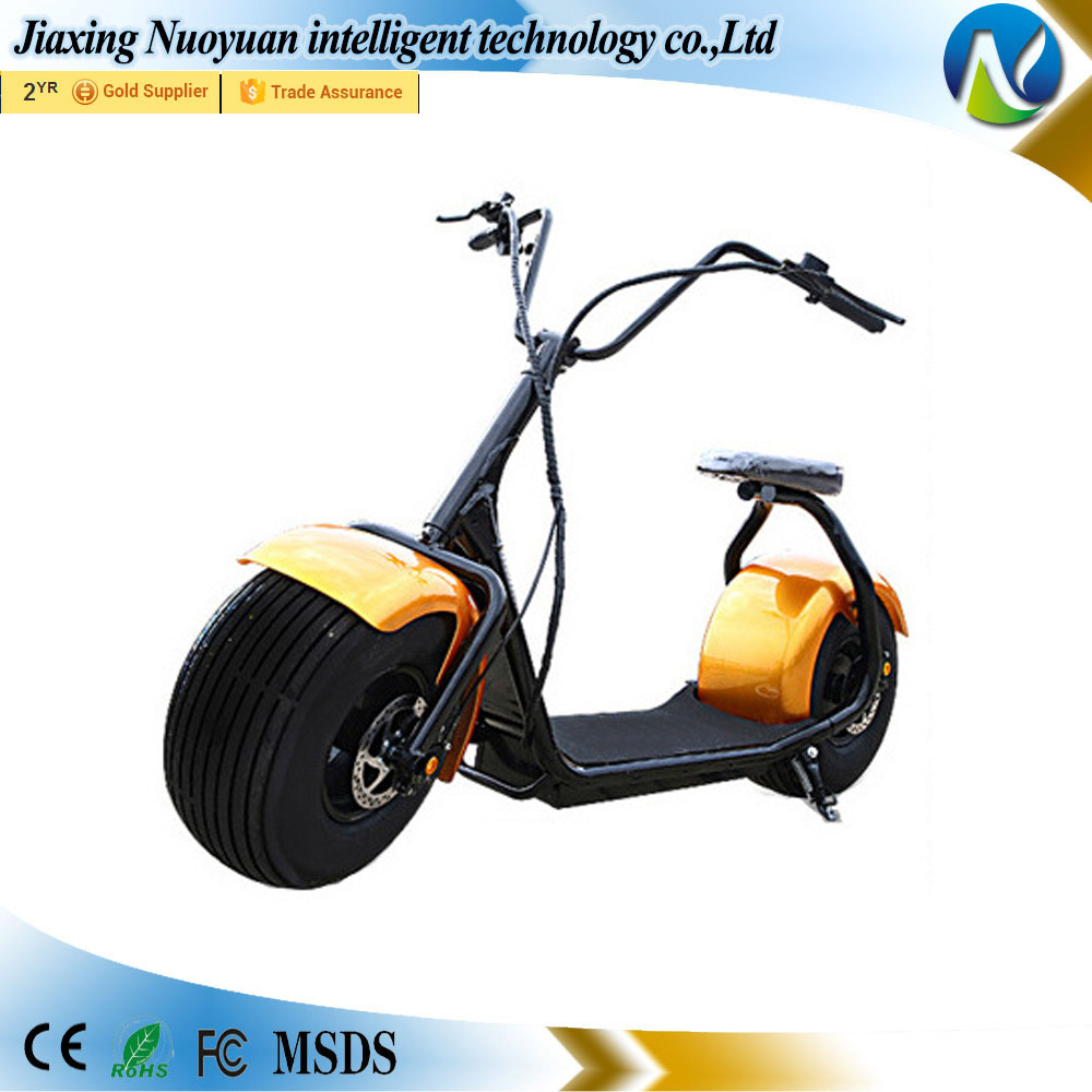 Eco Customizable Fat Tire Anti Theft Model Electric Moto Customizable Scooter