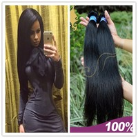 top quality no knots 100 percent unprocessed virgin brazilian remy hair