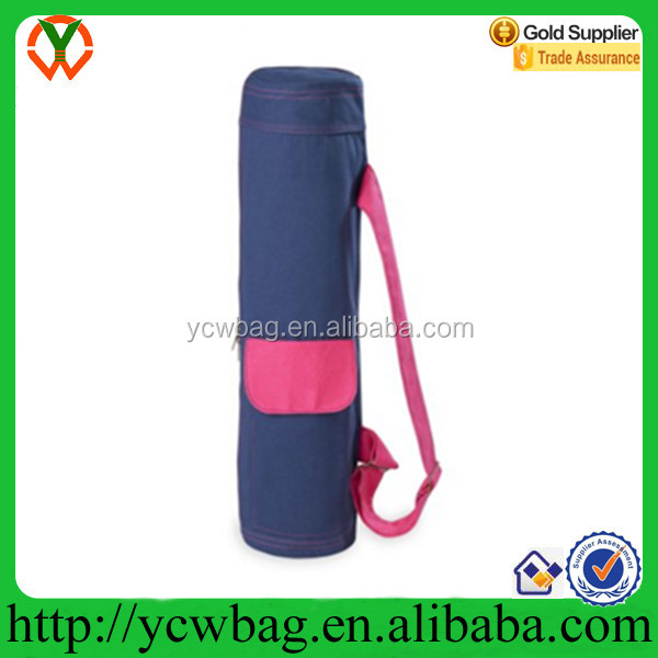 High quality canvas bag yoga mat duffel bag
