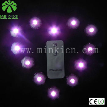 MINKI remote controlled battery operated led light