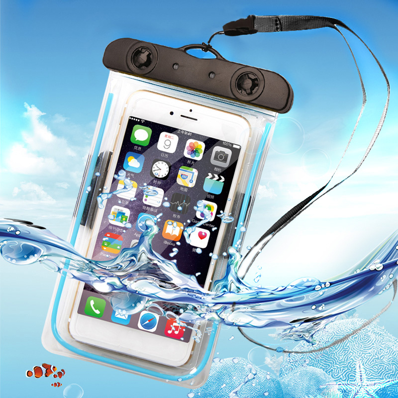 Promotional gift dry cell phone bag waterproof case for LG G2 G3 G4 G5 K10