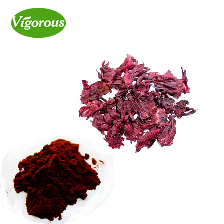 Pure Natural Free Sample Dried Hibiscus Extract Powder