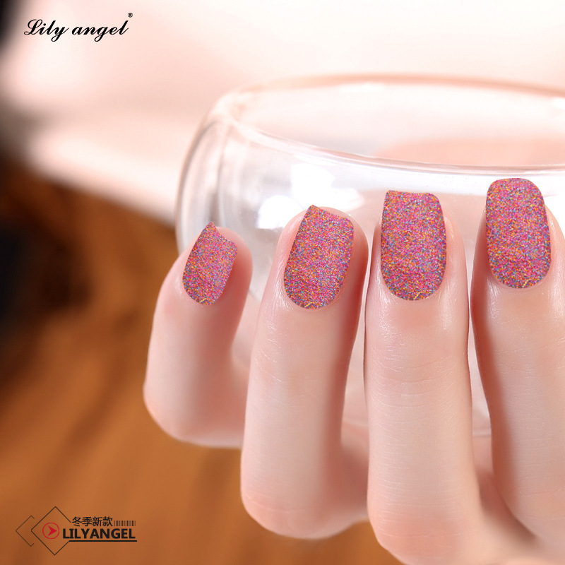 Mixed Colorful Rainbow Fine Glitter Powder Dip Nails Sugar Powder