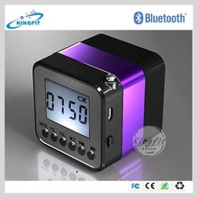 Top selling hifi bluetooth fm radio usb sd card reader speaker cell phone sound amplifier for iPhone /Samsung Smart Phones
