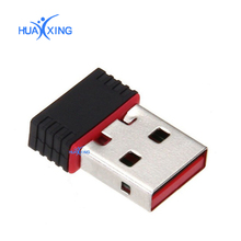 Two colors 150Mbps USB Wi-Fi adapter wifi Dongle wireless Lan networking card For Laptop PC+ Internal Antenna