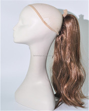 Hot Sales Pony Tail Hair Extensions Synthetic Hair Clip Ponytails