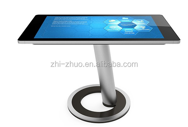 43 Inch Digital Media Interactive Multi Touch Screen Bar Table