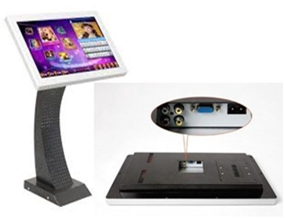 "Wifi Karaoke Player With 19"" LED Touchscreen"