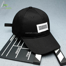 Wholesale custom high quality 100% cotton short brim embroidery logo baseball cap
