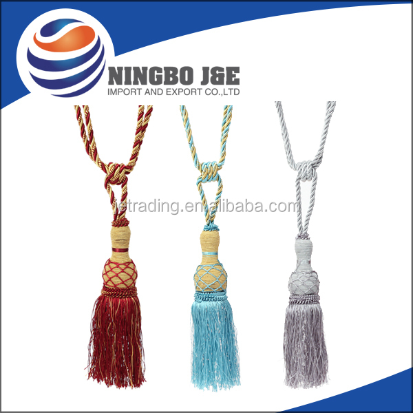 Fashion tassels for curtains