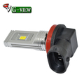 G-View Auto Parts 9.5w 12v h8/h11/h16 auto car Led fog light bulb high 1200lm