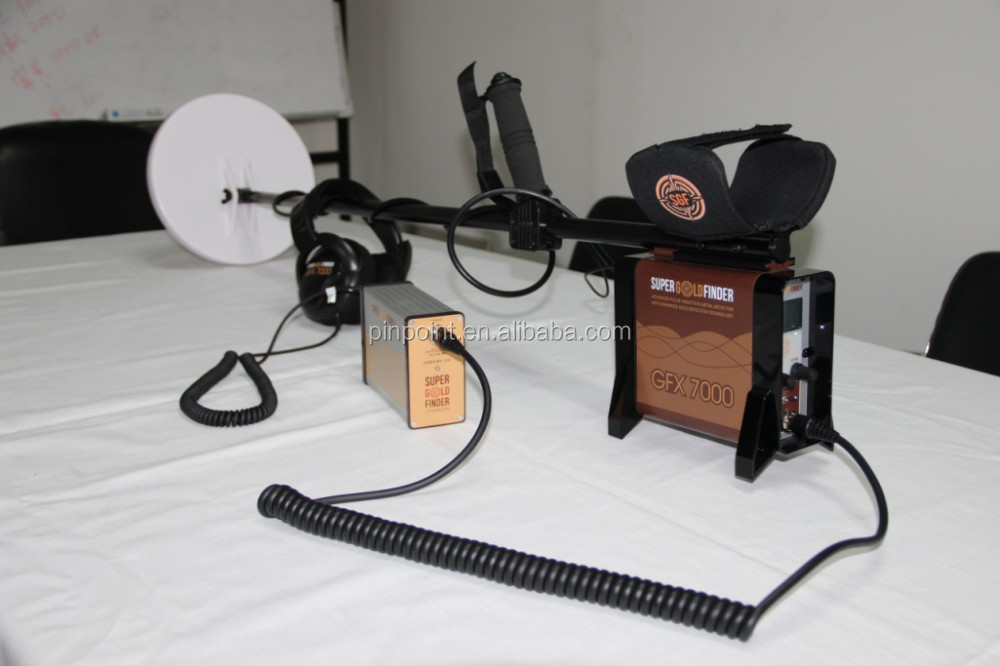 deep mine detector GFX 7000 Ground gold detector Treasure Vison metal detector
