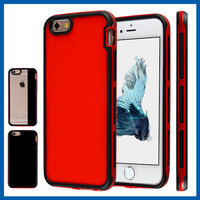 C&T Red Dual Layer Hybrid Armor Defender Rugged Hard Protective Case Cover For iPhone 6s