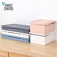 Foldable Folding Plastic Storage Box for Clothes Cosmetic Toy
