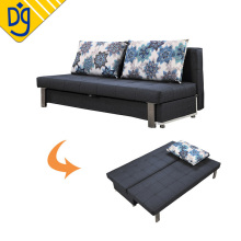 Convertible living room 3 seat storage sofa bed design