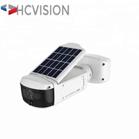 HD 1080p 2Mp WIFI outdoor Cameras Built-in 3W Solar charge Battery P2P Ap Function Solar power wireless ip Camera