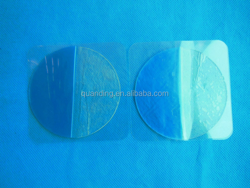 Dia 80mm conductive adhesive gel pads hot item for 2014 durable tens electrode pad, electrode pad supplier, exporters,