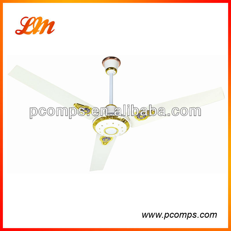 12V DC Ceiling Fan with Bright LED light and Energy Saving Motor.