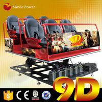 Ture feeling 9d motion ride cinema with special effects