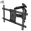 Ultra Slim Dual Arms Swivel Rack TV With Tilt -5~10 Degree
