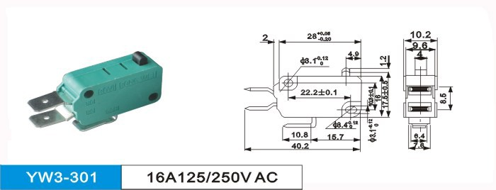 KW8-0 zippy micro switch lxw-16a, zippy 16A micro switch t85 5e4