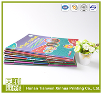 First choosing for children saddle stitching softcover book